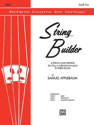 String Builder - Cello: Book 2