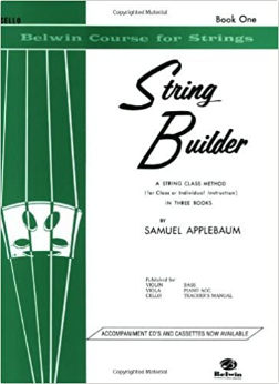 String Builder - Book 1 for Cello (Belwin Course for Strings)
