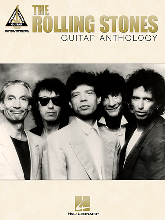 The Rolling Stones Guitar Anthology (Book)