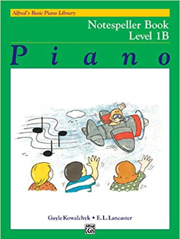 Alfred's - Basic Piano Library - Notespeller - Level 1b (Book)