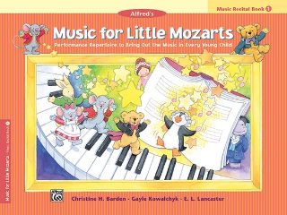 Music For Little Mozarts: Recital - Book 1 (Book)