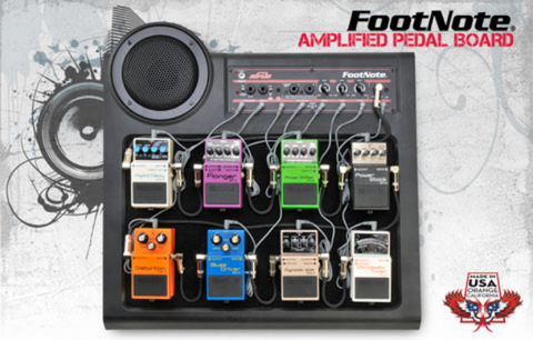 SKB Foot Note - Pedal Board