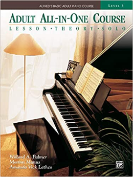 Adult All-In-One Piano Course: Level 3 : Lesson - Theory - Solo  (Book)