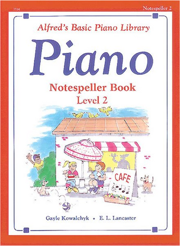 Alfred's - Basic Piano Library - Notespeller - Level 2 (Book)
