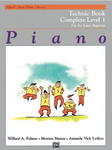 Alfred's - Basic Piano Course - Technic Complete (1A+1B) (Book)