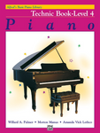 Alfred's - Basic Piano Course - Technic Book 4