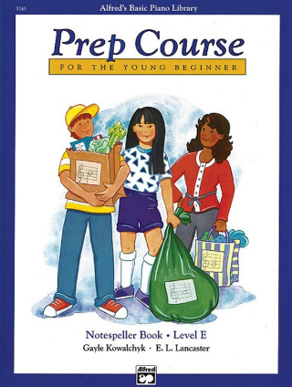 Alfred's Basic Piano Library: Prep Course Notespeller Book Level E (Book)