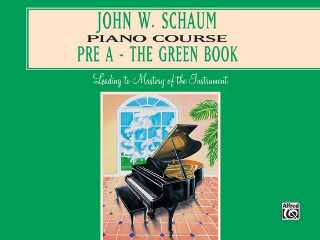 Piano Course - Pre A - The Green Book (Book)