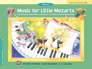 Music For Little Mozarts: Recital - Book 2 (Book)