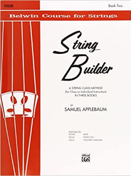 String Builder - Violin: Book 2