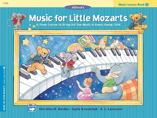 Music For Little Mozarts: Lesson - Book 3 (Book)