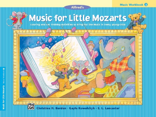 Music For Little Mozarts: Music Workbook - 3 (Book)