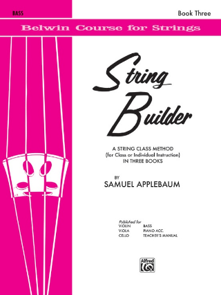 String Builder - Bass: Book 3