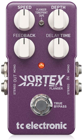 TC Electronic Vortex Flanger Pedal - Used
