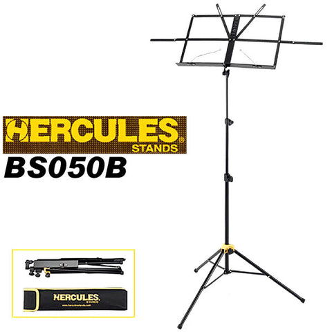 Hercules - BS050B - Wire Music Stand w/ Bag