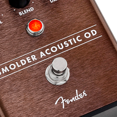Fender Smolder Acoustic Overdrive Effects Pedal - Used