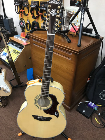 Washburn 12 String Acoustic Guitar J28SDL-12 Blond