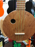 "Camp 16"" Scale Round Mahogany Uke w/ Pine Arm Rest"