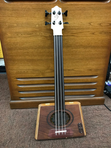 Cigar Box Bass - Custom Made - La Flor Dominica