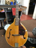 1966 Gibson Blonde A-Style Mandolin w/ OHSC
