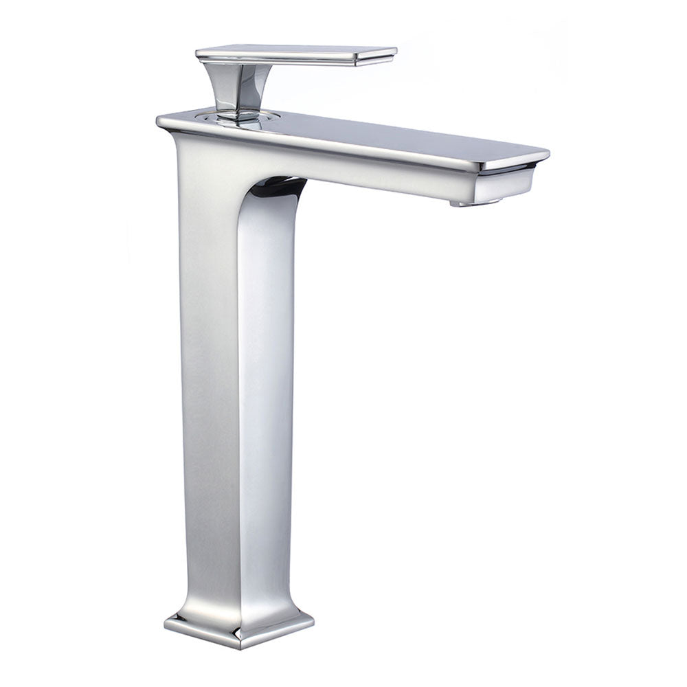 Zane Vessel Brushed Nickel Bathroom Faucet