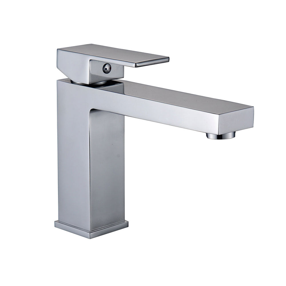 Brushed Nickel Basin Bathroom Faucet