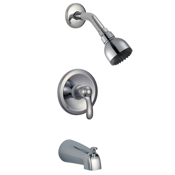 3-Spray 1-Handle Tub and Shower Faucet Trim Kit
