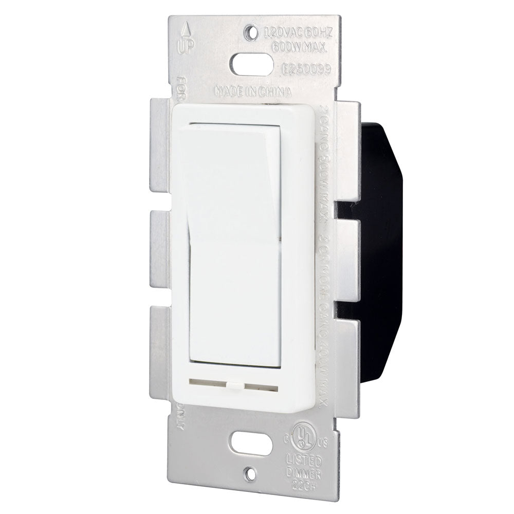 With External Adjuster Slide Dimmer & On/Off Switch