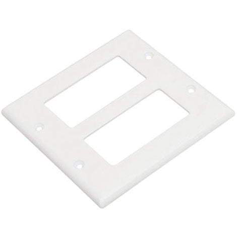2-Gang Decora Cover PC Material UL (25Pack)