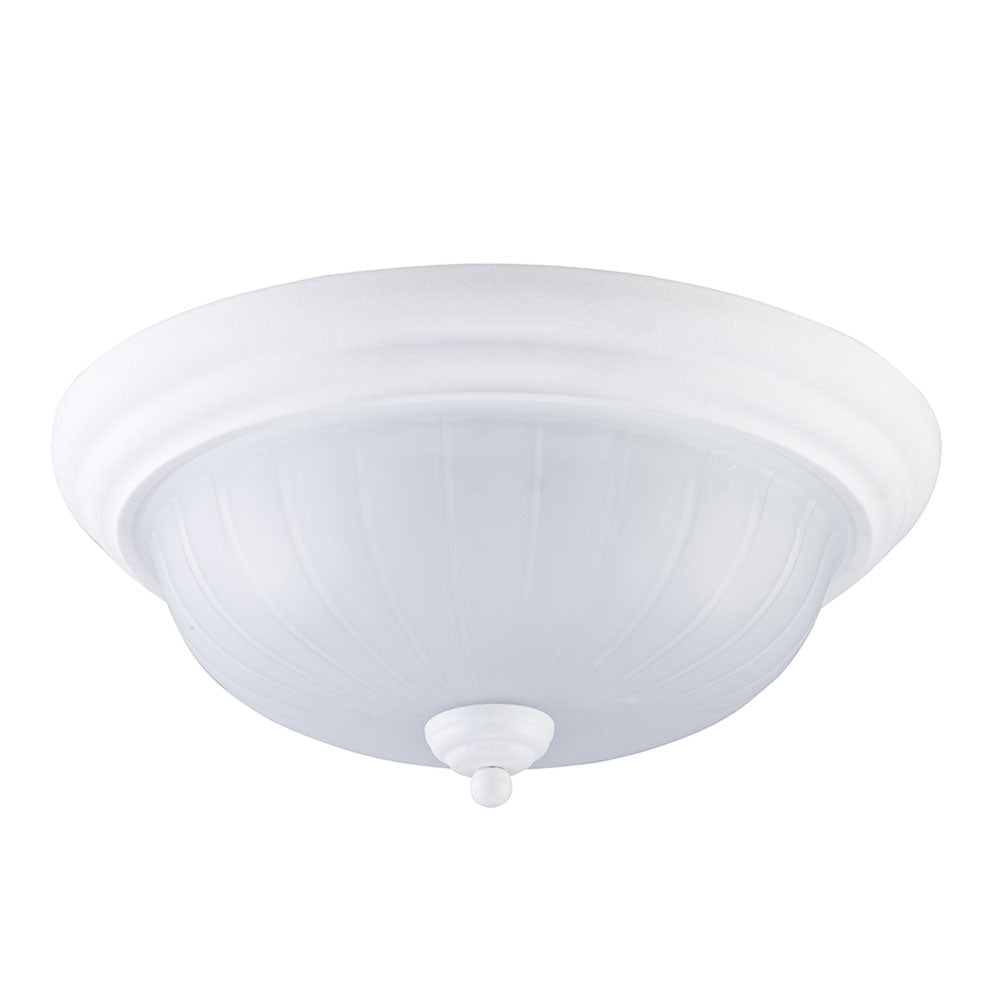 3-Light White Ceiling Light