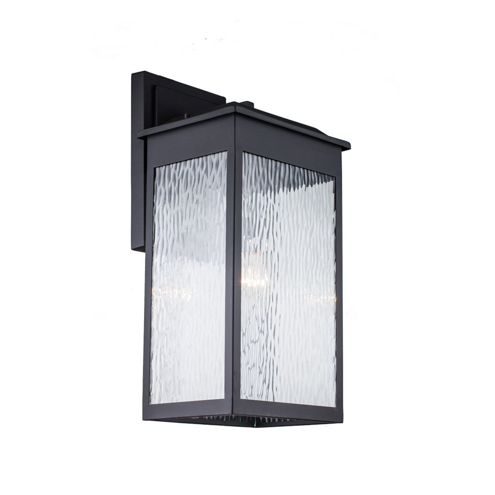 1-Light Outdoor Wall Light, Black