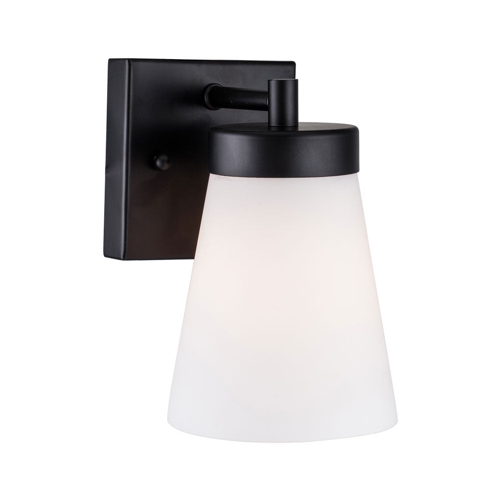 1-Light Outdoor Wall Light, Brown