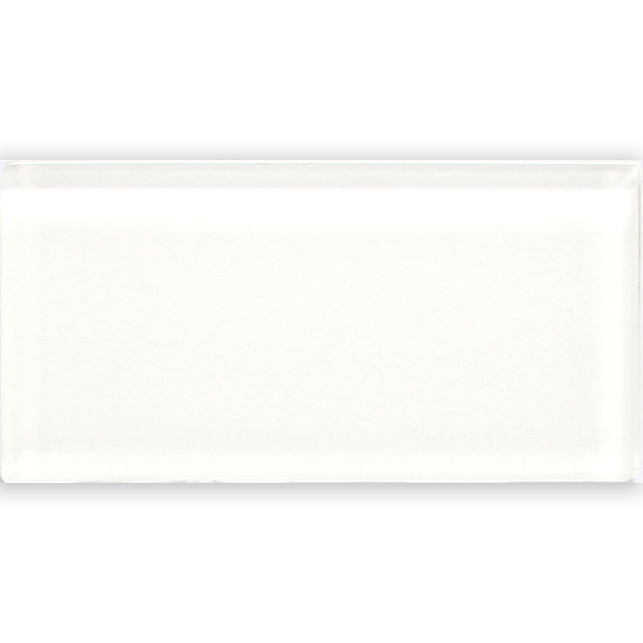 Glass White 3″x 6″