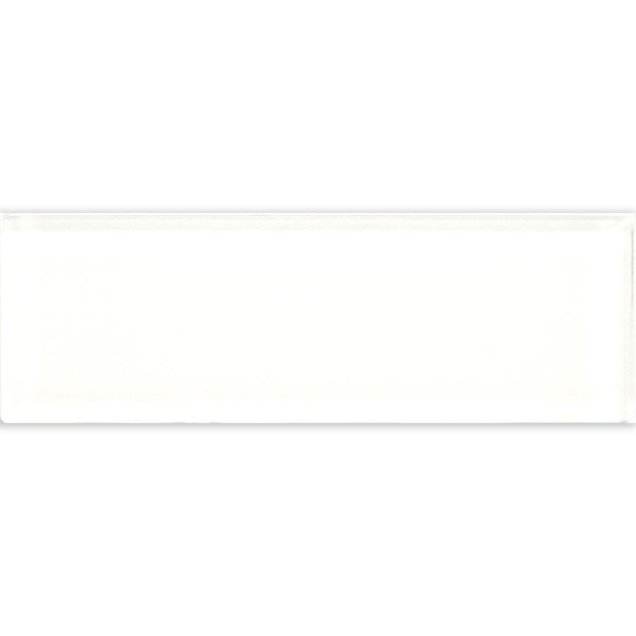 Glass White 4″ x 12″