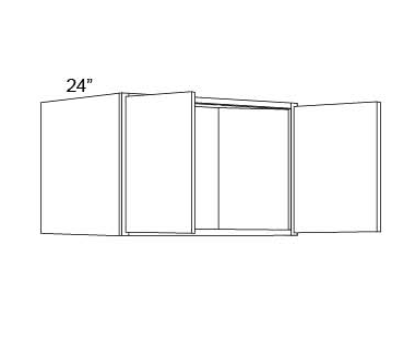 "REFRIGERATOR WALL CABINETS - 24"" DEEP - Discovery Frost"
