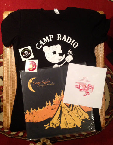 CAMP RADIO PACKAGE w/ Ladies T-Shirt!