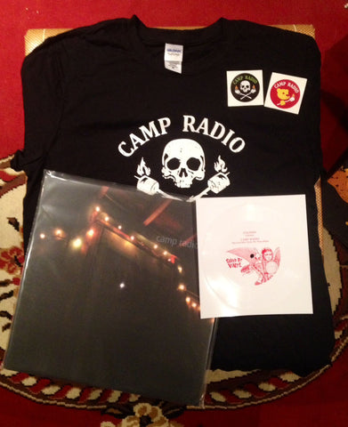 CAMP RADIO PACKAGE w/ Men's T-Shirt!