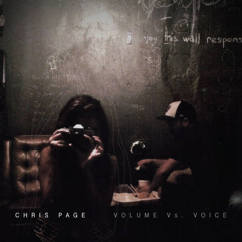 Chris Page - Volume Vs Voice LP (Limited Edition!)