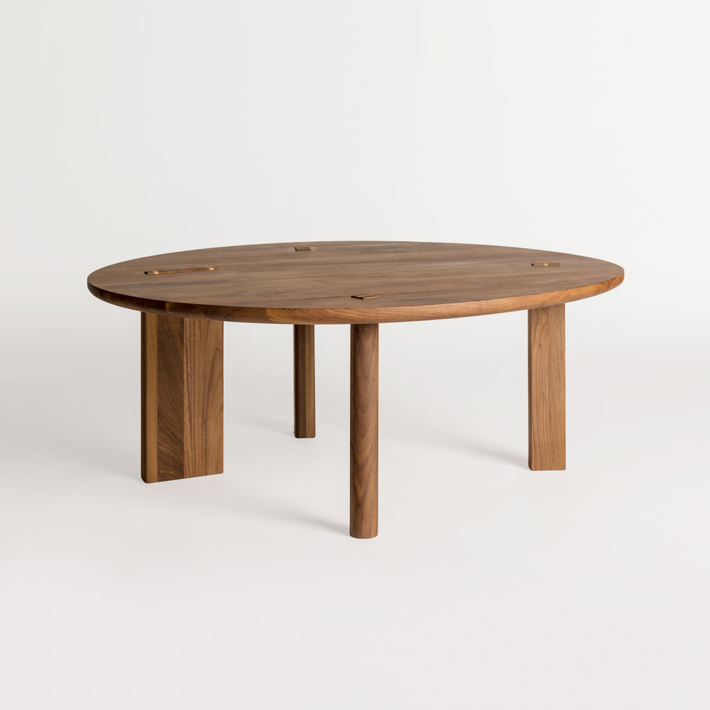 Large Tenon Table — Walnut