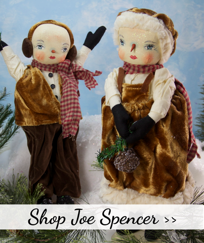 Joe Spencer Christmas Dolls