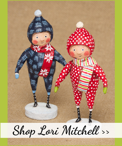 Lori Mitchell Christmas Figurines