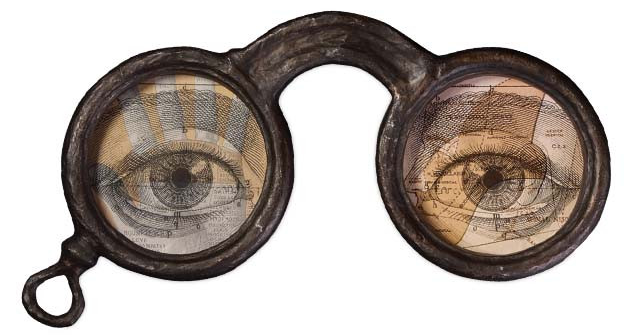 Bethany Lowe Halloween Heirloom Apothecary Eyeglasses