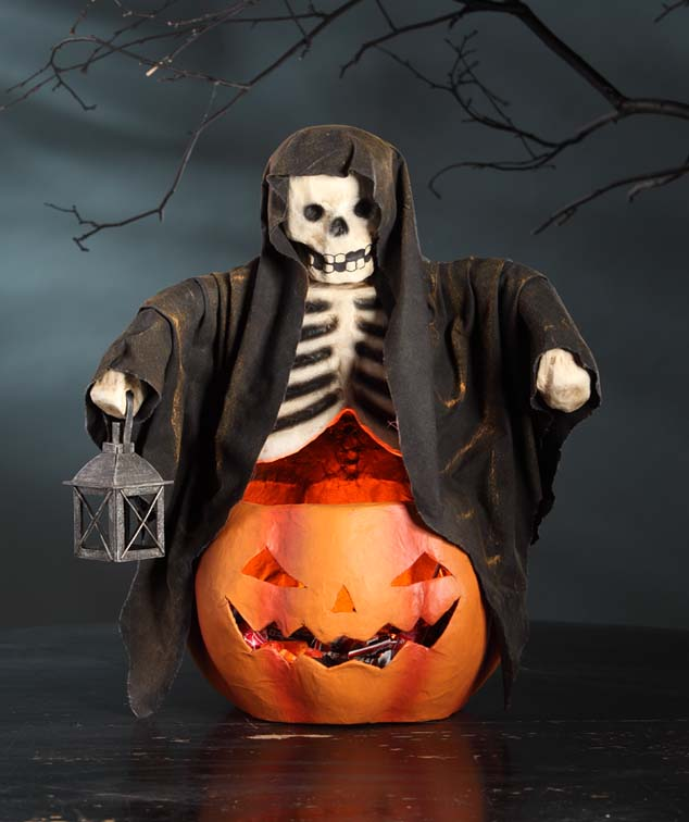 Halloween Skeleton Ghoul Bowl