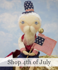 Joe Spencer 4th of July Dolls