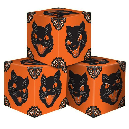 Sassy Cat Party Favor Boxes by Beistle