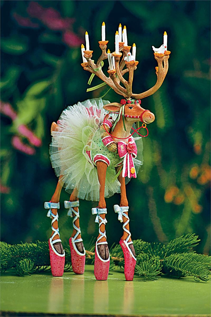 Dancer Reindeer Figurine