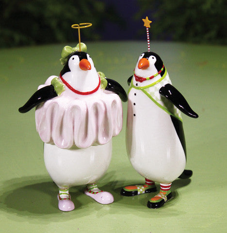 Thaddeus & Millicent Penguin Salt & Pepper