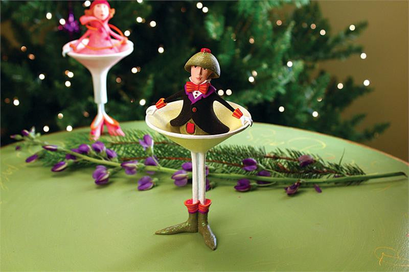 Oliver Martini Ornament