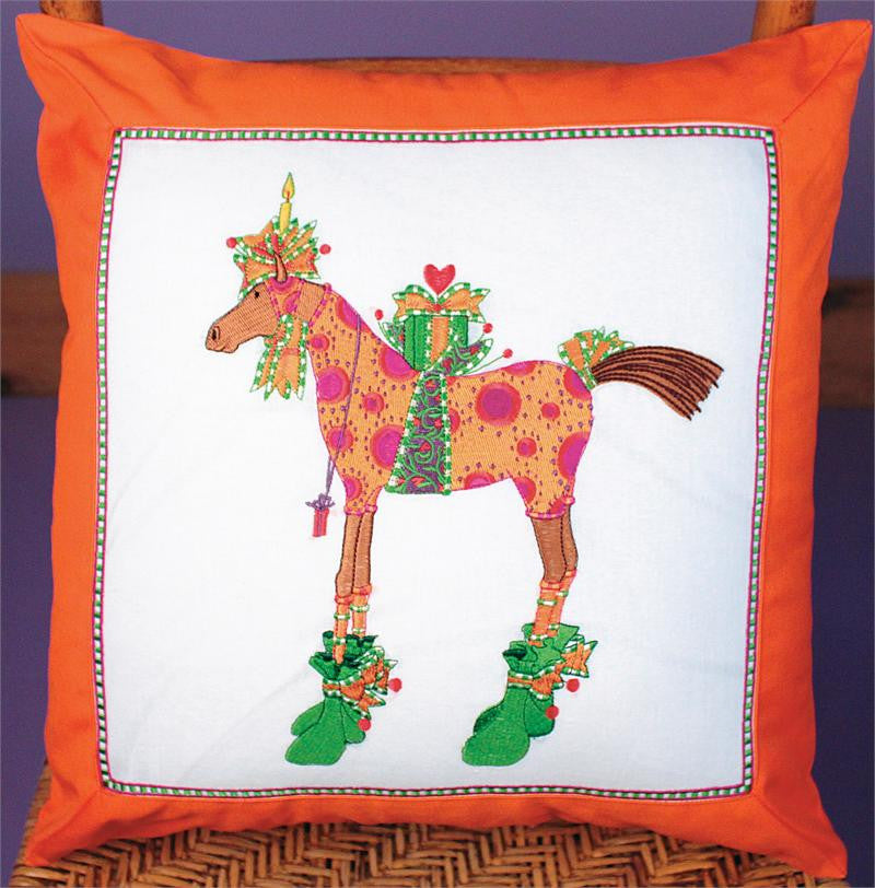 Maisy Horse Pillow