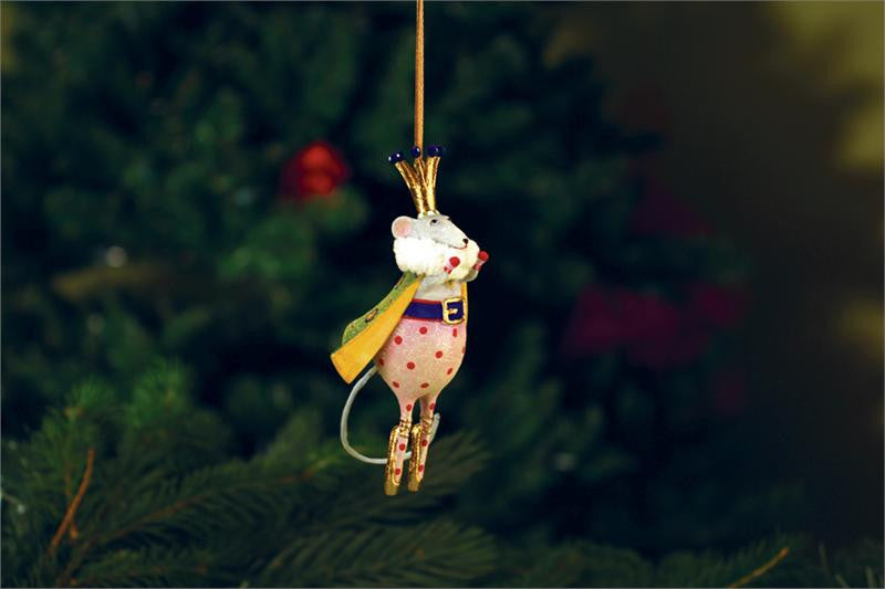 Mini Mouse King Ornament
